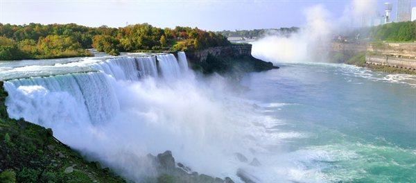 Niagarski slapovi, Združene države