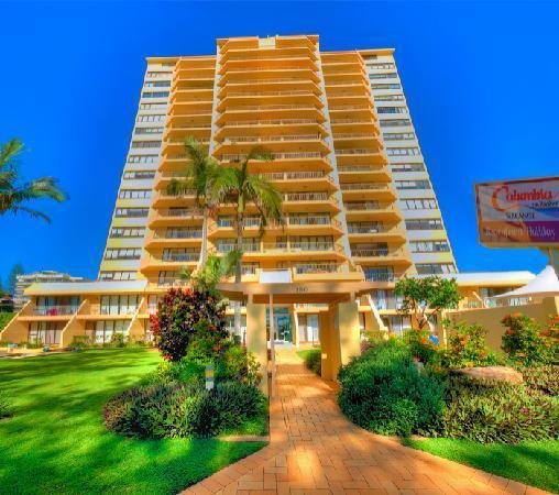 Photo: Columbia Apartments on Rainbow Bay