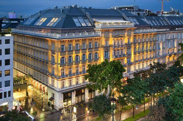 Grand Hotel Wien: exterior