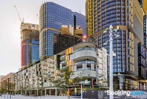Photo: Barangaroo Waterview Luxury Apartment