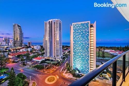 Photo: Stylish Broadbeach Apartment with Views