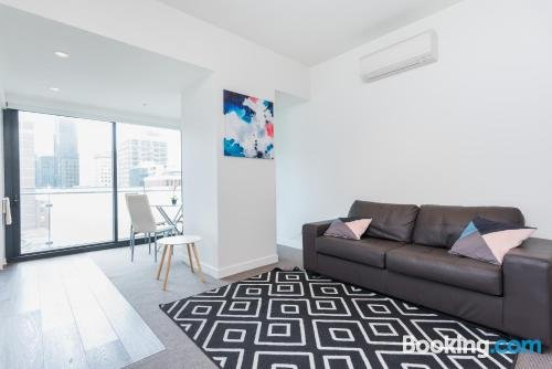 Photo: Relax in Luxury & Modern MELB 1BD