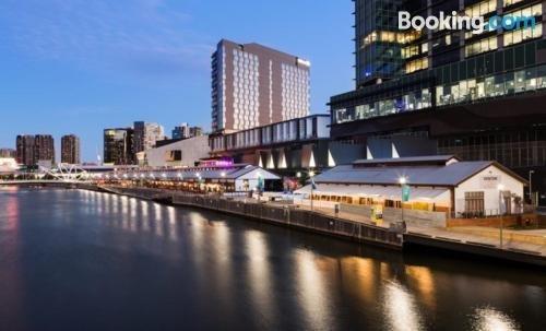 Photo: South Wharf Melbourne