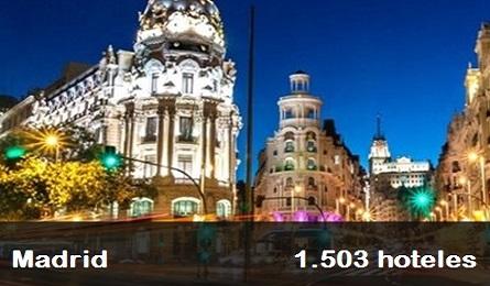 1503 hoteles baratos en Madrid