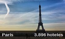 3.896 hoteles en París recomendador por Booking Center