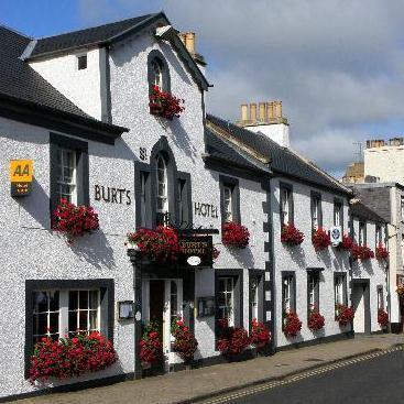 Burts Hotel Melrose Scotland - dream vacation