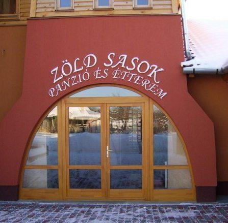 Zold Sasok Etterem es Panzio - dream vacation