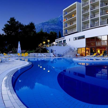 Slavija Hotel Baska Voda Set in Baska Voda Slavija
