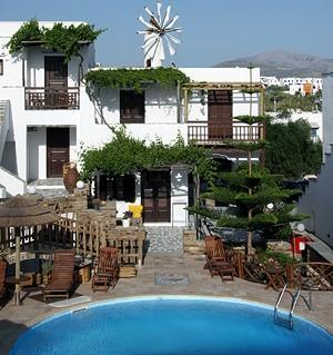 Hotel Anemomilos Agia Anna Naxos - dream vacation