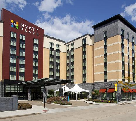 hyatt place pittsburgh north shore compare deals. Black Bedroom Furniture Sets. Home Design Ideas