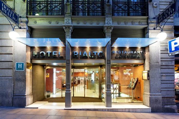 Hotel rialto barcelona compare deals for Hotels barcelone