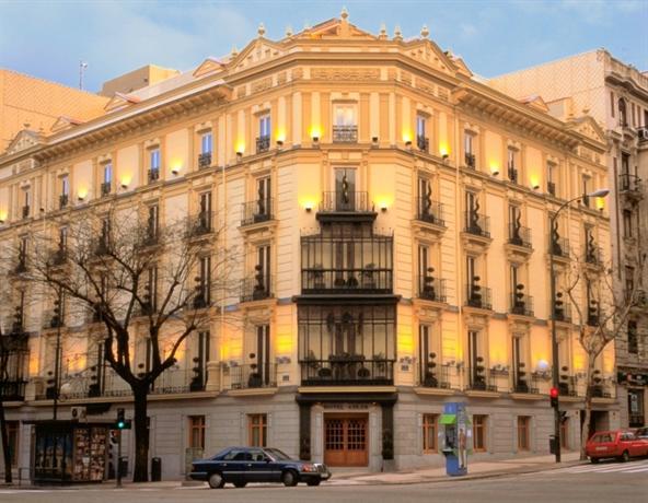 Adler Hotel Madrid Отель Адлер Мадрид
