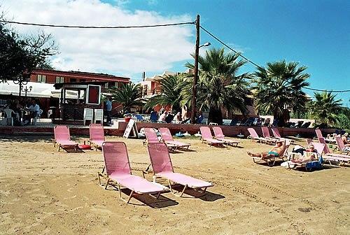 Maria S Beach Sidari Corfu