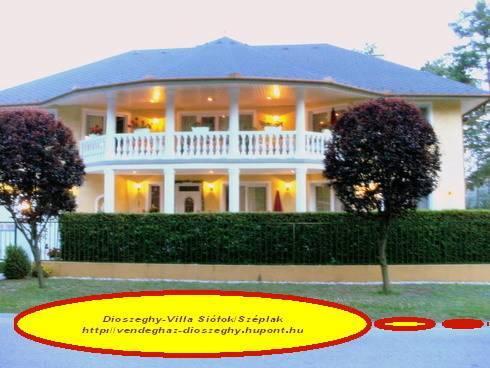 Dioszeghy-Villa Siofok - dream vacation
