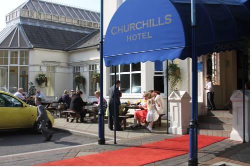 Churchills Hotel Llandaff Cardiff - dream vacation