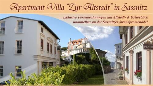 Apartment Villa Zur Altstadt Sassnitz - dream vacation
