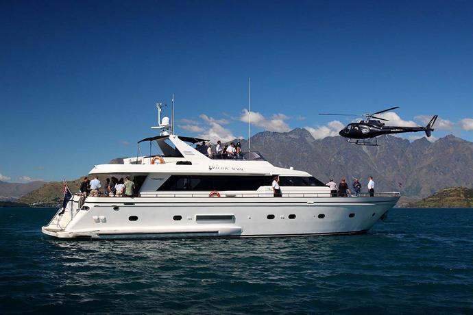 Pacific Jemm - Luxury Super Yacht - Queenstown Nz - dream vacation