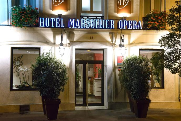 Hotel Louvre Marsollier Opera - dream vacation