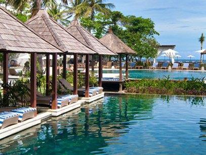 Bali beach and garden resort