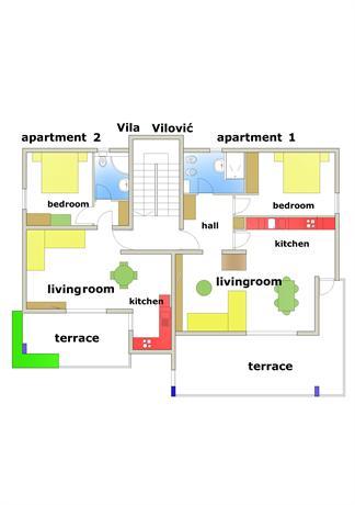 Villa Vilovic apartament 2 - dream vacation