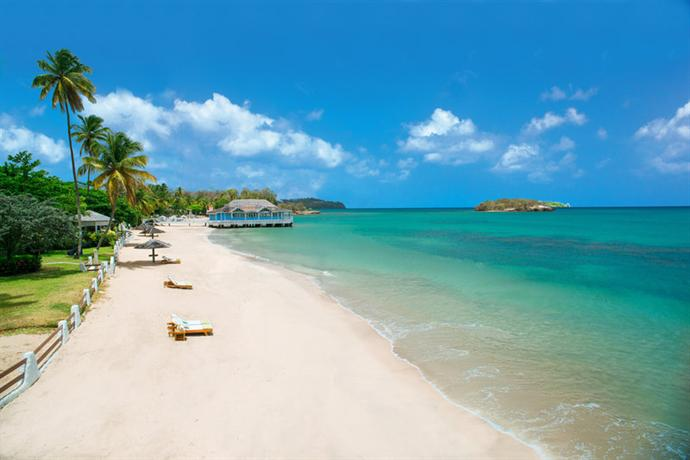 Sandals Halcyon Beach Resort Castries - dream vacation