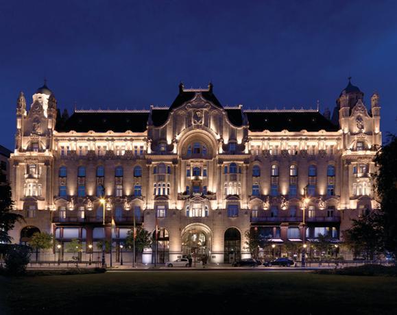 Four Seasons Hotel Gresham Palace Budapest - dream vacation