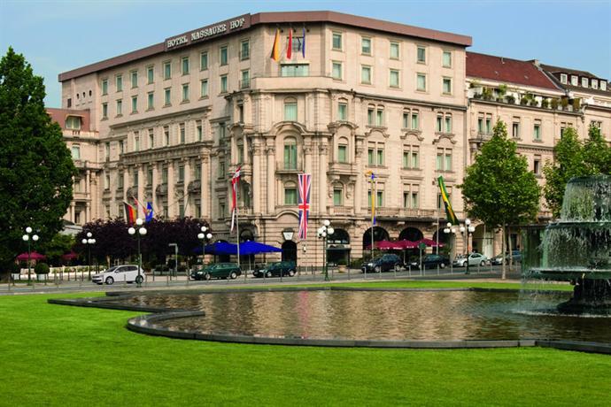 Hotel Nassauer Hof Wiesbaden - dream vacation