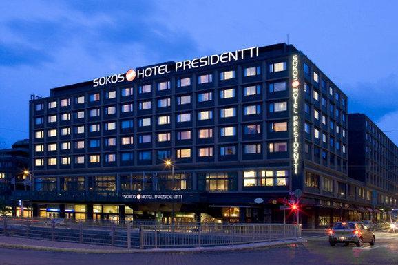 Original Sokos Hotel Presidentti Отель Сокос Пресидентти