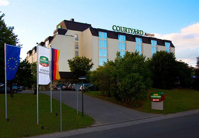 Courtyard Wiesbaden-Nordenstadt - dream vacation