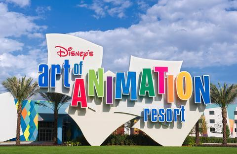Disney\'s Art of Animation Resort - dream vacation