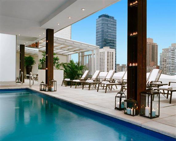 The empire hotel new york city compare deals - Hotel new york swimming pool roof ...