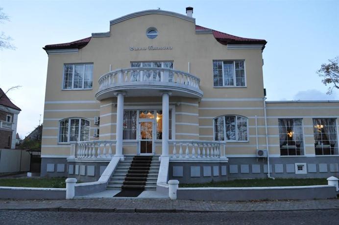 Гостиница Вилла-Татьяна на улице Верхнеозерная