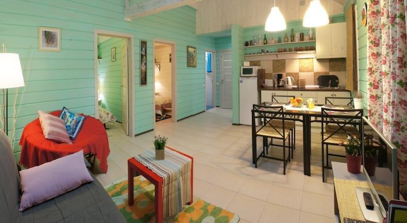 Berloga apartment with sauna