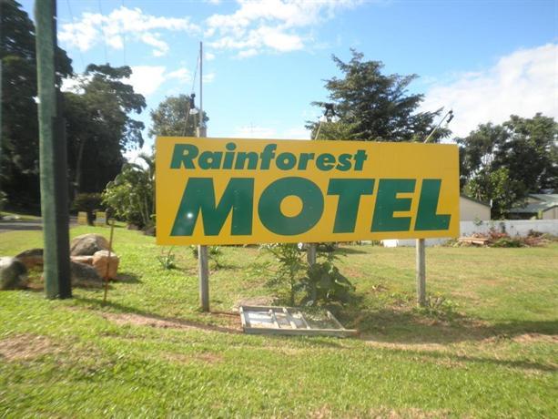 Photo: Rainforest Motel