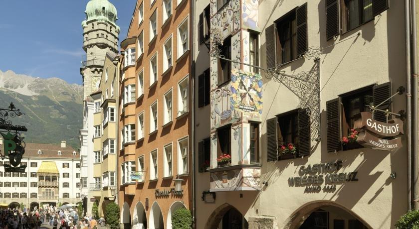 Hotel Weisses Kreuz Innsbruck - dream vacation