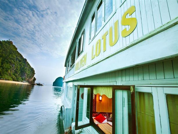 Golden Lotus Cruise Cabins Halong - dream vacation
