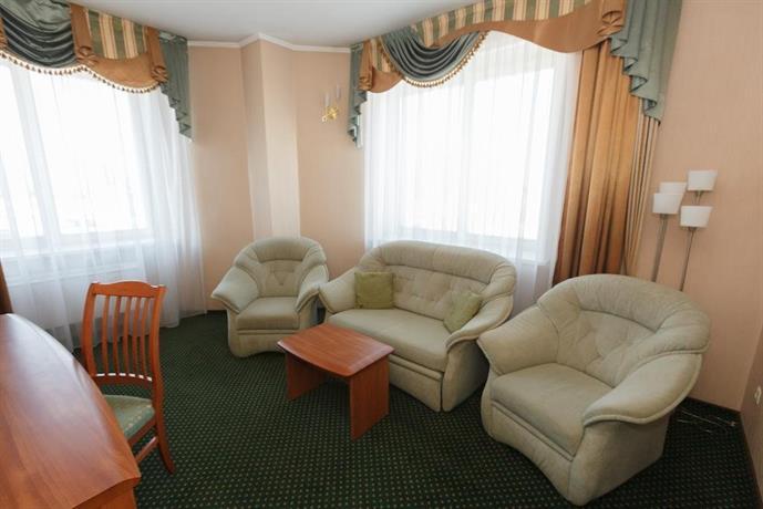 Гостиница Сибирь МВДЦ