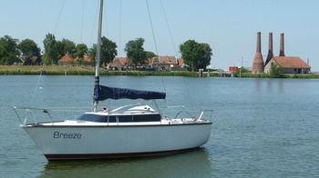 Zeilboot Aan Het IJsselmeer - dream vacation