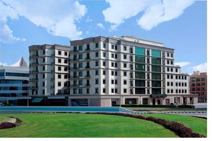 Al Waleed Palace Hotel Apartments Oud Metha 이미지