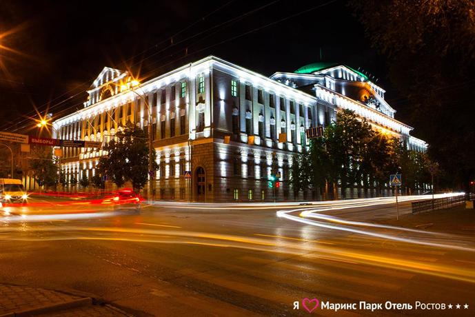 Отель Маринс Парк Отель Ростов