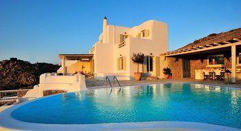 Villa Polymnia Psarou - dream vacation