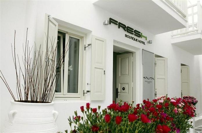 Fresh Hotel Mykonos - dream vacation