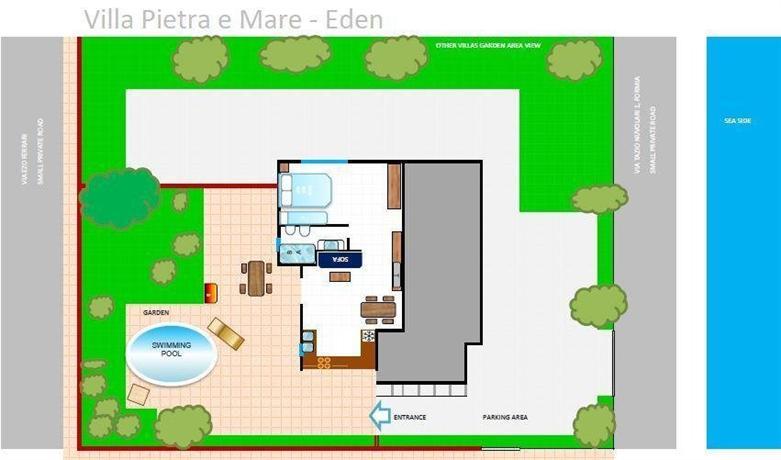 Villa Pietra e Mare - Eden - dream vacation