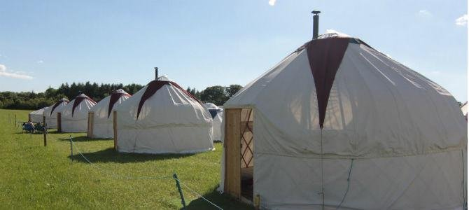 Festivals Under Canvas - Hay Festival - dream vacation