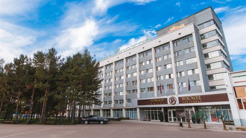 Hotel Voskhod Komsomolsk-on-Amur