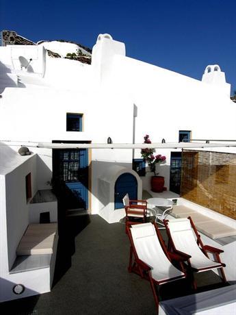 Gabbiano Apartments Oia Greece - dream vacation