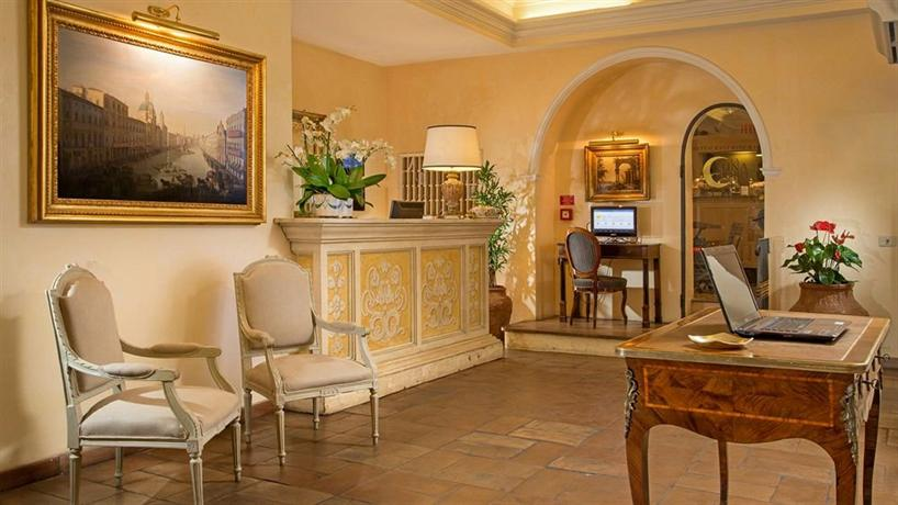 Hotel Mozart Rome - dream vacation