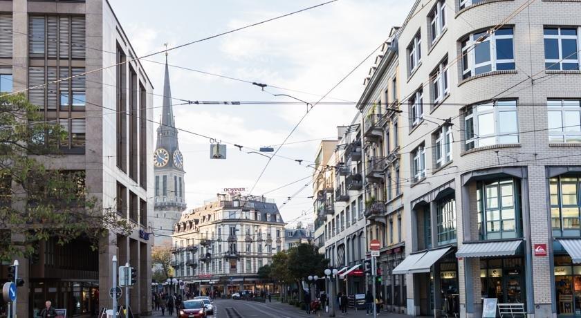 St Georges Hotel Zurich - dream vacation