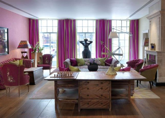 About The Soho Hotel Firmdale Hotels London