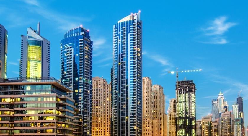 DHH -Come Home To A Cozy Studio in Bay Central Dubai Marina 5 Mins Walk to The Beach 이미지
